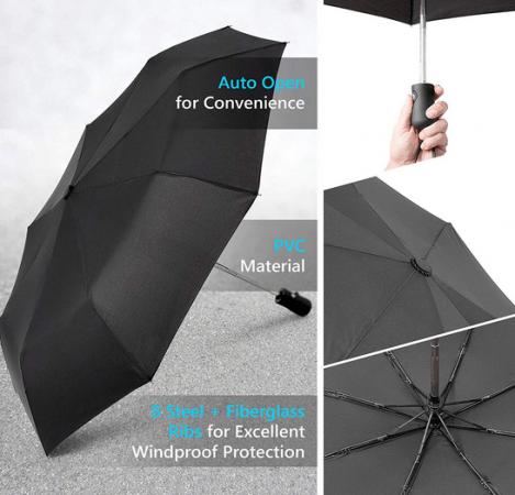 Cormoran paraguas XXL 3,00m paraguas sombrilla angel paraguas incl arenque