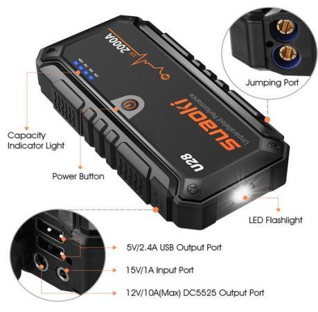 arrancador bateria coche lidl