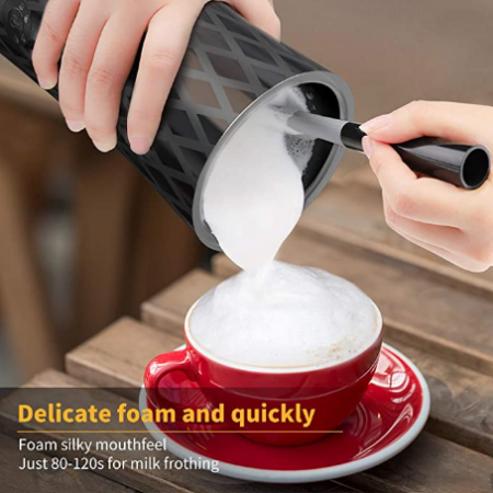 espumadors de leche eléctricos de mano